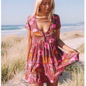 Spell & The Gypsy Braveheart Mini Dress